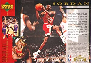 1995 - Upper Deck - Michael Jordan - 1995 Collector's Edition Jumbo Basketball Trading Card - Oct 6, 1993 Retirement - Out of Production - Mint - Limited Edition - Collectible