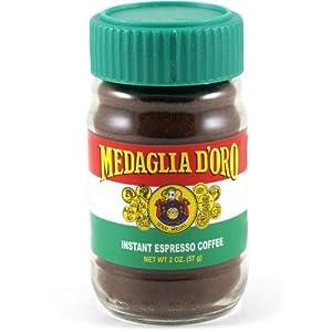 Medaglia D Oro Instant Espresso Coffee 2 Ounce Espresso Powder