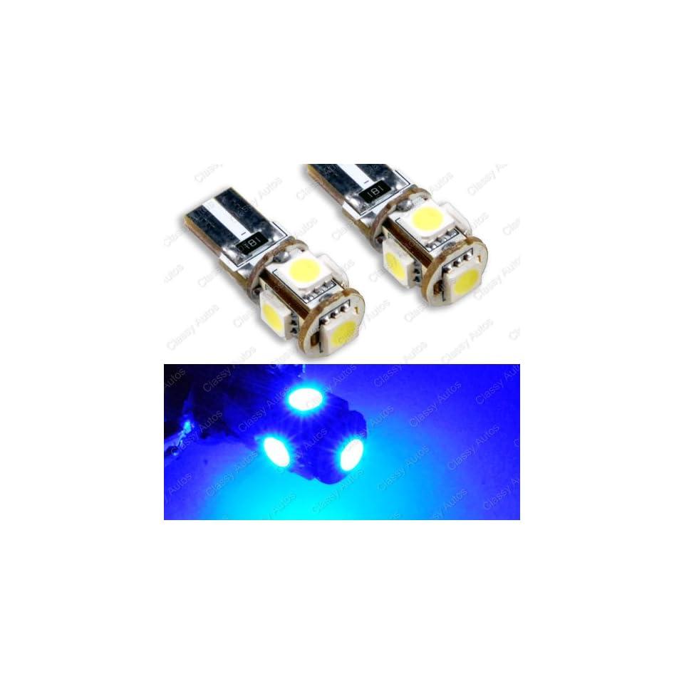 Classy Autos Ultra Blue LED License Plate Light Bulbs No Error for Mercedes BMW Porche Parking Eyelid Light