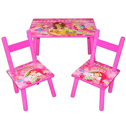 kids wooden children table and 2 chairs set kids bedroom furniture