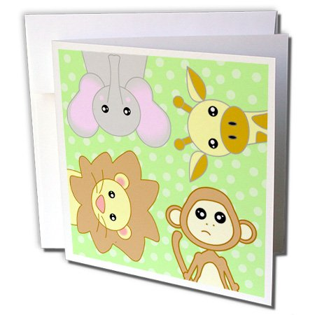 Monkey Baby Invitations front-619886
