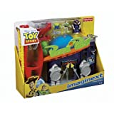 Fisher Price - Imaginext - Toy Story Pizza Planet Playset - includes Zurg, Buzz, Alien & Accessories - W9645