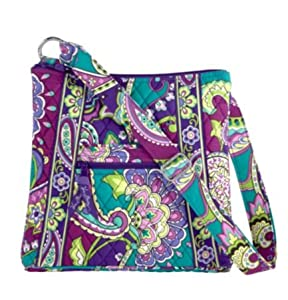 Amazon.com: Vera Bradley Large Hipster Heather: Shoes