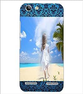 PrintDhaba Stranded Girl D-2494 Back Case Cover for LENOVO VIBE K5 PLUS (Multi-Coloured)