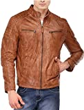 Zarf Men's Solid Leather Jackets