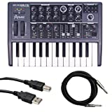 Arturia Microbrute with Instrument Cable and USB Cable Bundle image