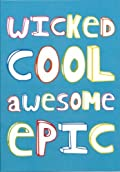 Wicked Awesome Epic Thank You Notes 10 Pack
