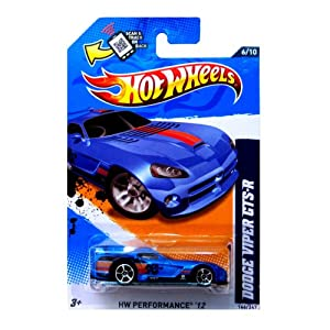 Hot Wheels 2012, Dodge Viper GTS-R (BLUE), HW Performance '12, 146/247