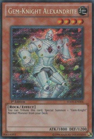 Yu-Gi-Oh! - Gem-Knight Alexandrite (HA05-EN004) - Hidden Arsenal 5 - 1st Edition - Secret Rare (Gem Knights compare prices)