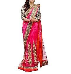 Rangrasiya Corportation Women's Net Saree_04_Multicolored_Freesize