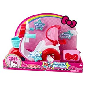 Hello kitty large doll scooter accessory toys - Petite maison hello kitty ...