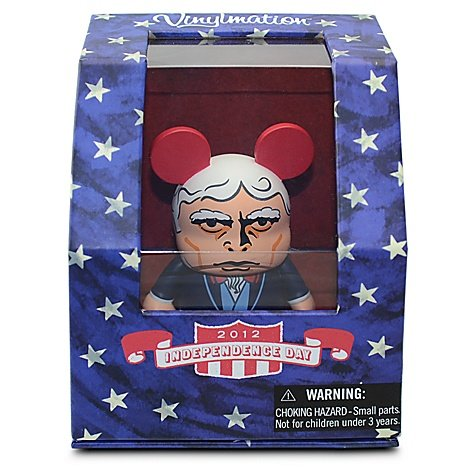 "2012 Independence Day Uncle Sam Holiday Disney Vinylmation 3"" inch Figure - 1"