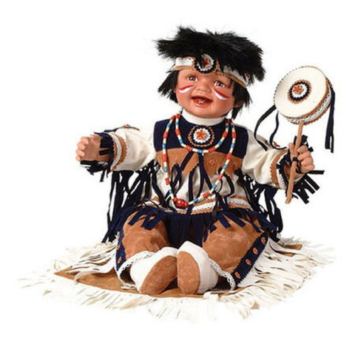 Buy MOTEGA22 22in Native American w/Drum Doll Duck House