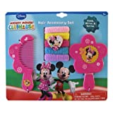 Mickey Mouse Clubhouse 7pc Minnie Mouse Hair Accessory Set - Minnie Vanity Set - Minnie Hair Set