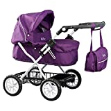 Silvercross Ranger Purple Doll Pram