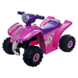 Lil' RiderT Pink Princess Mini Quad Ride-on Car Four Wheeler