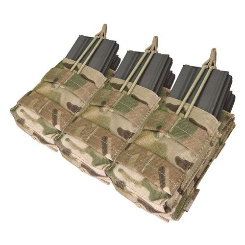 Triple Stacker M4 Magazine Pouch (Hold 6 Mags) Color: Multi-Cam