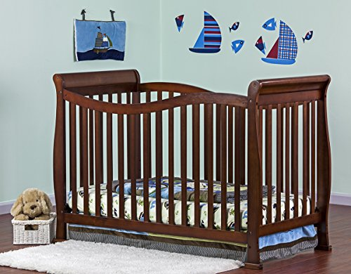 Cheap Dream On Me Violet 7 in 1 Convertible Life Style Crib, Espresso