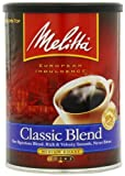 Melitta Classic Blend Medium Roast Ground Coffee, 11-Ounce