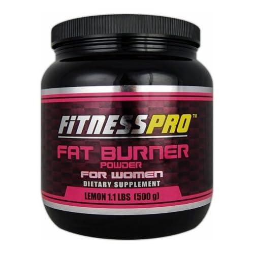 Amazon.com: Fitness Pro Lab Fat Burner Powder for Women, Lemon, 500