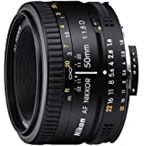 Nikon 2137 50mm f/1.8D Auto Focus Nikkor Lens for Nikon Digital SLR Cameras