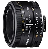 Nikon 50mm f/1.8D Auto Focus Nikkor Lens for Nikon Digital SLR Cameras - Fixed