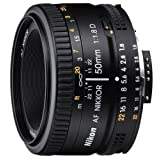 Nikon 50mm f/1.8D AF Nikkor Lens for Nikon Digital SLR Cameras ~ Nikon
