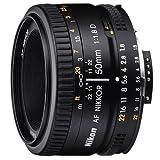 """Nikon AF Nikkor 50mm 1:1,8D Objektiv (52mm Filtergewinde)von """"Nikon"""""""