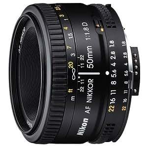 Nikon 2137 50mm f/1.8D Auto Focus Nikkor Lens for Nikon Digital SLR Cameras