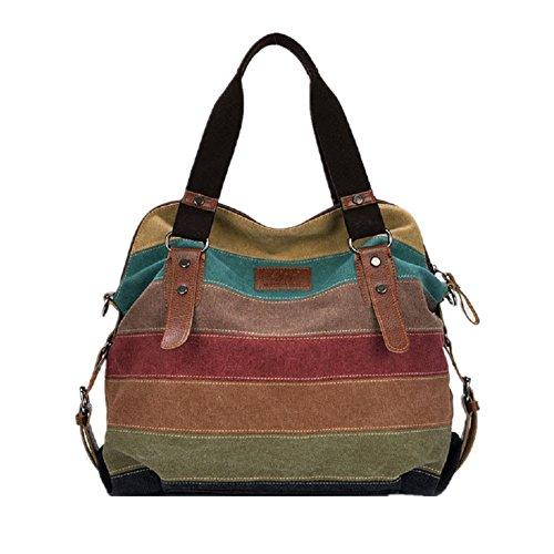 Nasis Rainbow Design Lady Bag Hand Bag Hopper Al4006