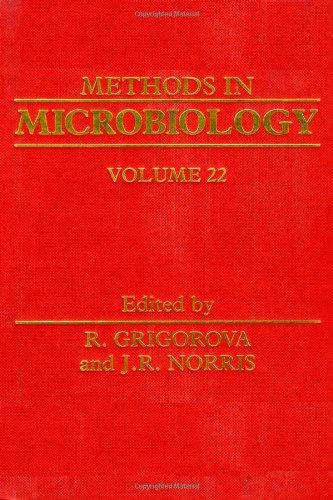 METHODS IN MICROBIOLOGY,VOLUME 22, Volume 22