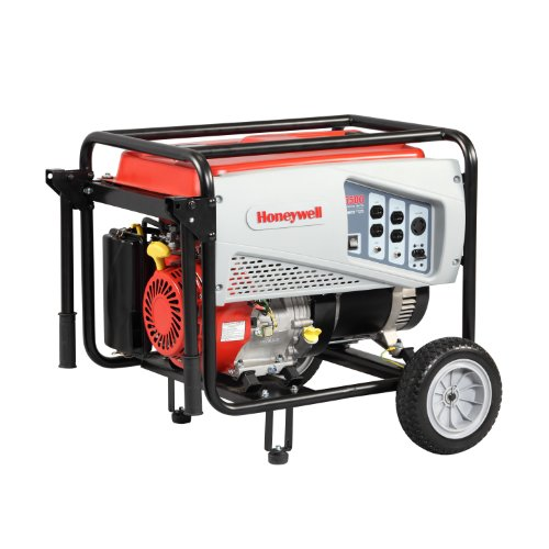 Honeywell 6151 5,500 Watt 389cc OHV Portable Gas Powered Generator (CARB Compliant)