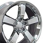 Charger SRT Style Wheels Fits Dodge - Chrome 20x9 Set of 4