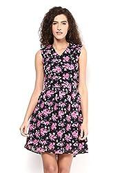 Pink Back Cutout Dress