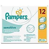 Pampers Feuchtt�cher Sensitive 2-Monatspack, 672 T�cher (12 x 56 St�ck) Bild