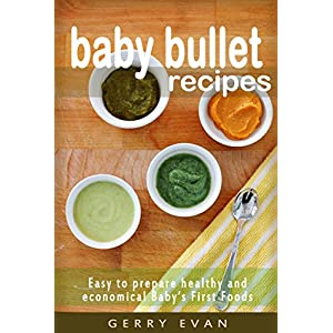 BABY BULLET RECIPES FOR YOUR LITTLE NINJA!: Easy to prepare healthy and economical Baby's First Foods