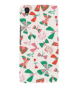 EPICCASE butterflies Mobile Back Case Cover For OnePlus X (Designer Case)