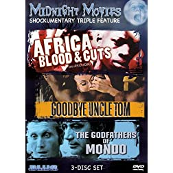 Midnight Movies Vol 12: Shockumentary Triple Feature (Africa Blood & Guts/Goodbye Uncle Tom/Godfathers of Mondo)