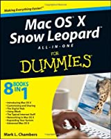 Mac OS X Snow Leopard All-in-One For Dummies Front Cover