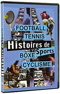 Histoires de sports : Boxe - Football - Cyclisme - Tennis 4dvd