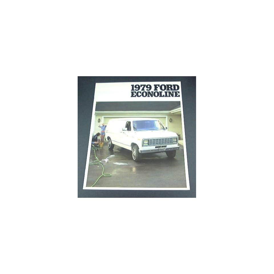 1979 79 Ford ECONOLINE Van BROCHURE E100 E250 E350 E150