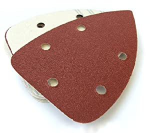Toolzone 6pc Palm Sander Pads