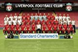 Liverpool FC Team Photo Maxi Poster 91.5cm x 61cm The Squad Ready For Battle In The 2010/2011 Season