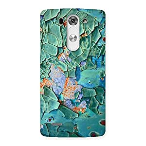 Green Ripped print Back Case Cover for LG G3 Mini