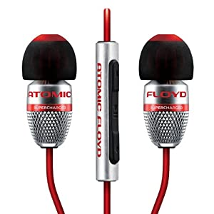 【日本正規代理店品・2年保証】ATOMIC FLOYD SuperDarts +Remote (カナル型イヤホン・マイク付きリモコン搭載) SAF-EP-000013