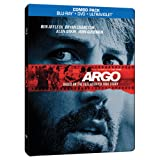 Argo Blu-ray SteelBook (Blu-ray/DVD Combo+UltraViolet Digital Copy)