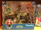 Brave Pixar Disney Parks Figurine PVC Playset Play Set Cake Topper NEW