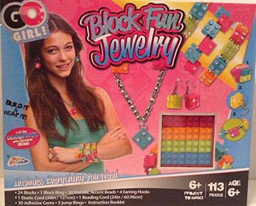 Go Girl Block Fun Jewelry Making Kit - 1