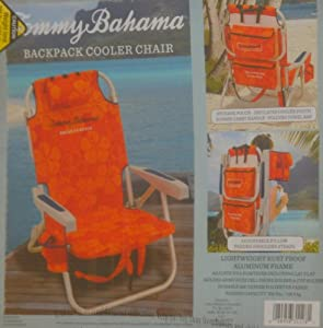 Amazon Com Tommy Bahama Backpack Cooler Chair Orange