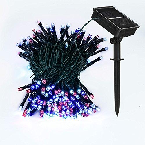 Solar Outdoor Fairy String Lights, Loende Waterproof 72FT